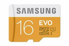 Samsung 16GB Evo micro SD SDHC 48MB/s Class 10 UHS-I TF Mobile Memory Card 16G