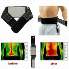 Tourmaline Magnetic Therapy Lower Back Support Belt Self Heating Backache # XL