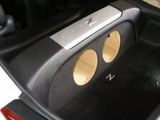 "ZEnclosures 2-10"" Subwoofer Enclosure Sub Box Speaker Box for Nissan 350z Coupe"