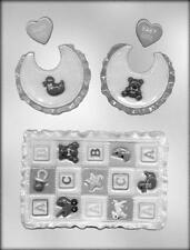 Baby Quilt and Bib Chocolate Candy Mold from CK #11559 - NEW