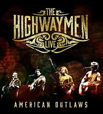 Live - American Outlaws The Highwaymen 3 x CD + 1 DVD ( CD May 20 2016 )
