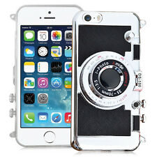 Housse Coque Silicone TPU Video appreil photo NOIR Apple iPhone 5/ 5S/ iPhone SE