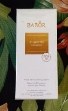 Babor Shaping for body Feet Smoothing Balm 150 ml NEW IN BOX