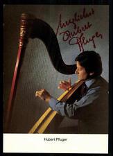 Hubert Pfluger Autogrammkarte Original Signiert ## BC 15112