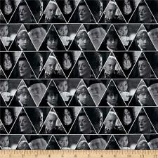 Camelot Harry Potter Digital Characters Triangles 100% cotton fabric by the yard
