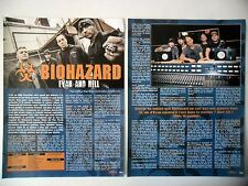 COUPURE DE PRESSE-CLIPPING :  BIOHAZARD [3pages] 07-08/2011 Billy Graziadei