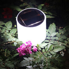 LED Inflatable Solar Power Lantern Outdoor Garden Camping Festival Travel Lamp