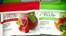 Juice Plus+ ORCHARD and GARDEN CHEWABLES. 2 PACKETS. 01-06/2016. FAST SHIP!!