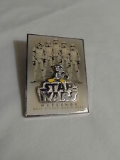 Disney Star Wars Weekends 2008-Donald as Stormtrooper Logo Pin LE 7000