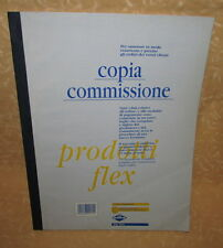 COPIA COMMISSIONE A4 FLEX 1672C AUTOCOPIANTE 3 COPIE 25 MODULI  cod.11346