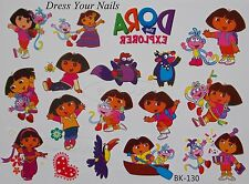 Dora La exployer + Botas Nickelodeon Cartoon organismo temporal Tattoo pegatinas