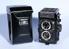 Yashica Mat 124G TLR Medium Format 6x6 Camera Yashinon 80mm f3.5 Lens *Near Mint