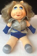 "Vintage 1980 Fisher Price Toy #890 MISS PIGGY 14"" Plush Jim Henson Muppet Doll"