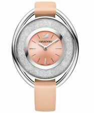 Swarovski Crystalline Oval LIGHT ROSE Watch Ladies Swiss Authentic MIB 5158546