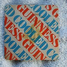 Vintage BEER MAT - COOLED GUINNESS (Guiness)