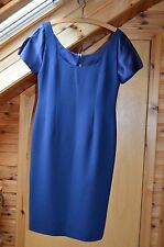 Frank Usher Dress, Size 14, Navy Blue.