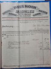 Wittenberge - alte Rechnung 1926