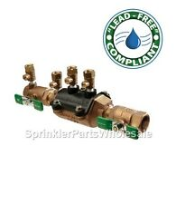 """Wilkins 1"""" 350XL Double Check Valve Lead Free Backflow Preventer Assembly 1-350"""