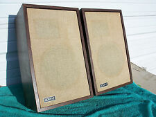 Advent 3 Vintage Bookshelf Speakers EXCELLENT