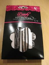 Pack of  3 x Party replaceable bra straps - Ideal Xmas Stocking Filler