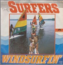 "7"" Vinyl Single The Surfers Windsurfin` / Nite At The Beach 70`s Polydor"