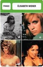 FICHE CINEMA :  ELISABETH WIENER -  France (Biographie/Filmographie)