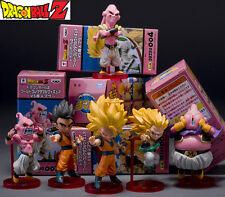 Anime Dragon Ball Z Majin Buu Boo Gotenks Saiyan Son Goku Gohan PVC Figures 6pcs