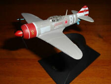 1:100 Lavochkin La-7 Soviet Airplane WWII model Die Cast & Magazine 7 Russian