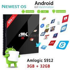 H96pro+ 3GB 32GB Amlogic S912 Octa Core Android 6.0 Smart TV Box Dual WiFi BT4.1