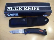 NOS 1995 BUCK KNIFE 450 C WORKMAN PROTEGE**WITH SHEATH**500 BUCK SERIES IN SIZE