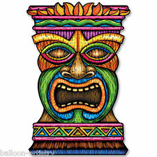 3ft Tropical TIKI TOTEM Summer BBQ Party Giant Jumbo Cutout Decoration