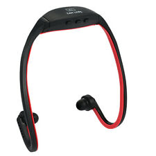 Wifi MP3 reproductor auricular inalámbrico de 8 Gb Con Fm función Tf / Micro Color Rojo