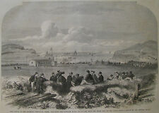 ATLANTIC TELEGRAPH FOILHOMMERUM VALENCIA IRELAND #3 1865 ILLUSTRATED LONDON NEWS
