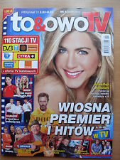 To & Owo TV - Polish Magazine front Jennifer Aniston in.Hugh Laurie,G.Butler