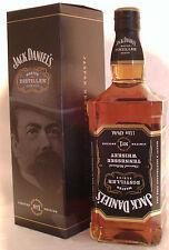 Jack Daniels  MASTER DISTILLER  #1 mit BOX 1 Liter 43% Vol  Etikett auf Kopf