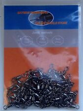 3 Way Fishing Rolling Swivels  size #5 attached to a #6 joined