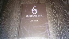 NEW OFFICIAL CAPCOM Resident Evil 6 Art Book (PS3 / XBOX 360) + Emblem Stickers