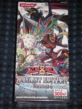NEW YuGiOh ZEXAL OCG Duelist Edition Volume 4 Booster BOX KONAMI JAPAN FREE SHIP