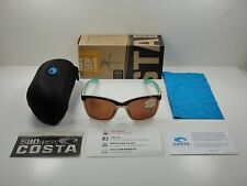 COSTA DEL MAR ANAA WOMEN'S POLARIZED SUNGLASSES COPPER 580P LENS ANA105 OCP NEW!