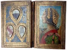 """ITALIEN SIENESER EINBAND I. F. JONI """"Tavolette della biccherna"""" SIENA UM 1500"""