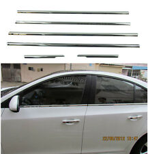 Chevy Cruze Stainless Steel Window Molding Sill Trim Decoration 6 PCS