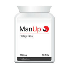 MAN UP DELAY PILLS TABLETS  DELAYS CUM LAST LONGER DON'T EJACULATE TOO QUICK