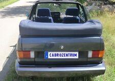 VW Golf 1 Cabrio Verdeck Persenning neu schwarz (farbig mög.)