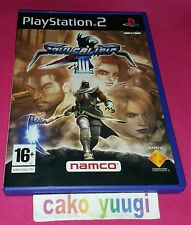 SOULCALIBUR III SONY PS2 VERSION 100% FRANCAISE EN TRES BON ETAT