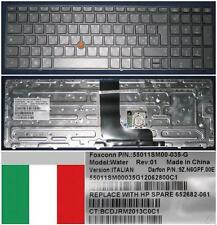 Clavier Qwerty Italien HP EliteBook 8560W HX0PF 9Z.N6GPF.00E 652682-061 BACKLIT