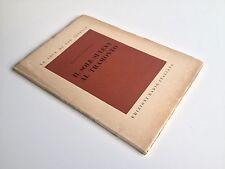 IL CANTO DEL GRILLO FRANCESCO CARNELUTTI EDIZIONI RADIO ITALIANA 1955