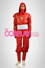 Mighty Morphin Power Rangers: The Movie -- Red Ninjetti Ranger Cosplay Costume