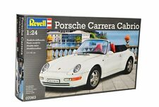 Revell 1/24 Porsche 911 Carrera Cabrio Plastic Model Kit 07063