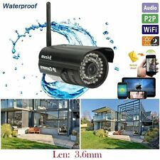 2017 Outdoor Waterproof Wireless IP Camera Wifi Night Vision Motion Detection