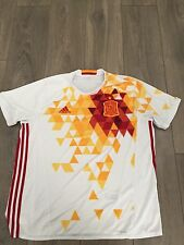 Spain Away Shirt 2015/16 X-Large Rare